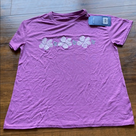 Life is good Hibiscus tee size small